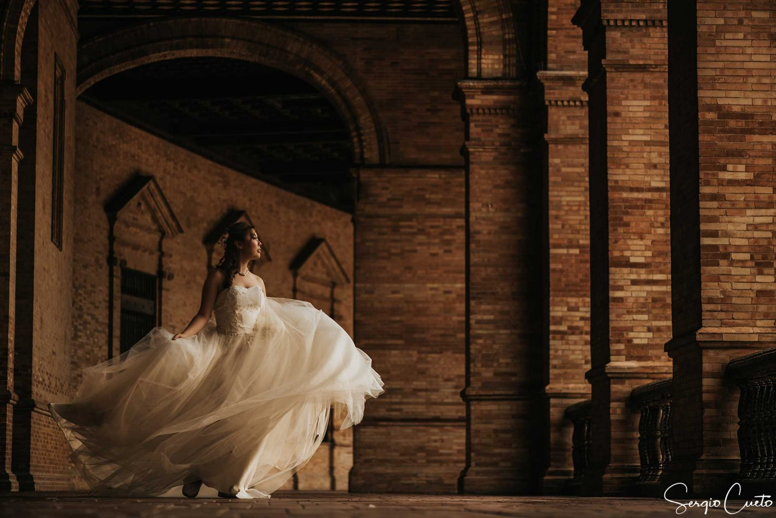 chinese bride photos in Seville Spain